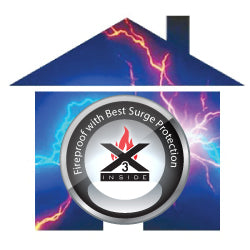 Powramid is certified with Fireproof with best Surge Protection