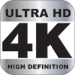 This product supports 4k Ultra High Definition