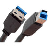 USB 3.0 SuperSpeed Cable (A Plug/B Plug)