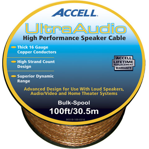 UltraAudio™ Speaker Cable Bulk Spool - 16 Gauge