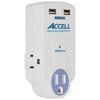 Home or Away Power Station - 3 Outlet Travel Surge Protector