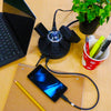 Powramid® C Power Center - Surge Protector and USB-A & C Charging Station