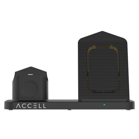 Accell Power - 3 in 1 Fast Wireless Charger