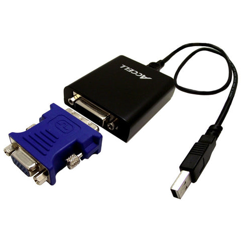 UltraVideo® USB 2.0 to DVI-I or VGA Video Adapter