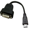 HDMI (Type-A) to DVI-D (Female) Adapter