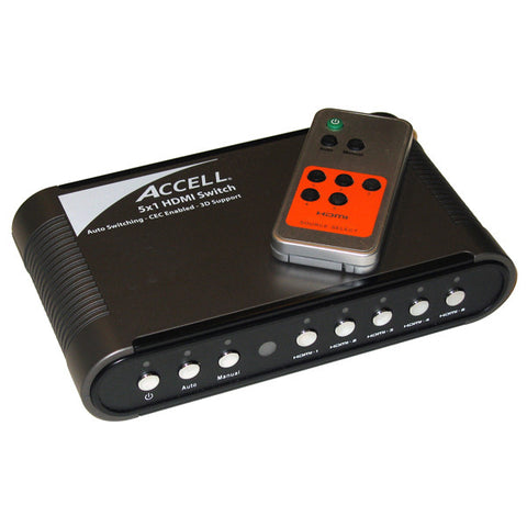 UltraAV® 5x1 Audio/Video HDMI Switch