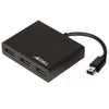 UltraAV® Mini DisplayPort 1.2 to 3 DisplayPort Multi-Display MST Hub