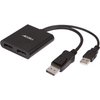 UltraAV® DisplayPort 1.2 to 2 DisplayPort Multi-Display MST Hub