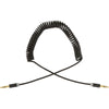 3.5mm to 3.5mm Coiled Audio Cable