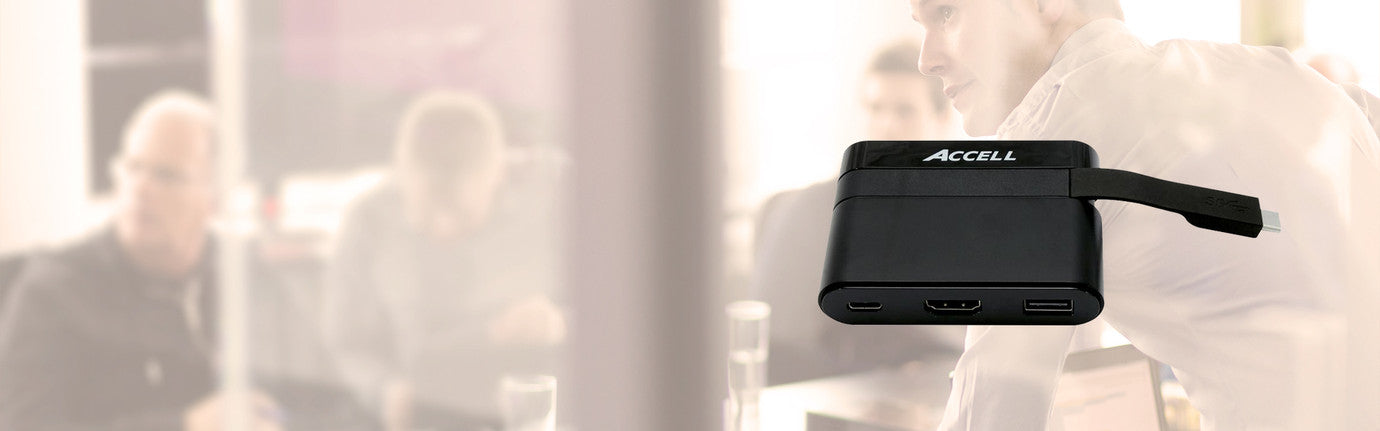 <caption-product>Portable USB-C Dock</caption-product>DURABLE AND SMART SOLUTIONS