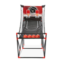 Front View of E-Jet Games Arcade Basketball Game