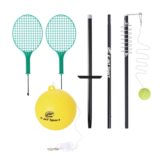 Tether Set with Tetherball and Tether Tennis