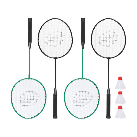 Badminton Racquets and shuttlecocks