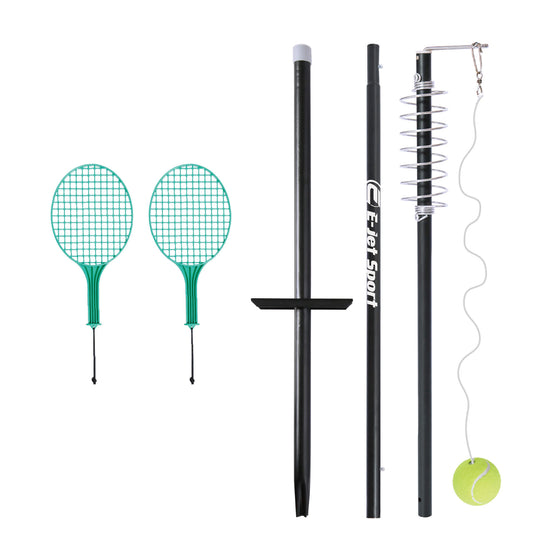 Tether Tennis Set with Height-Adjustable Pole