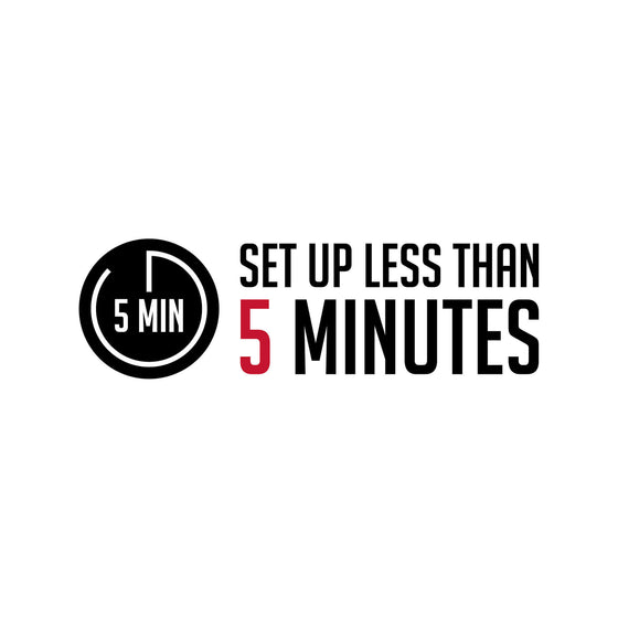 5 minute set up logo