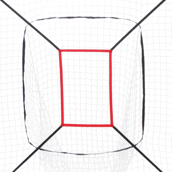 Baseball Practice Net - close up of target