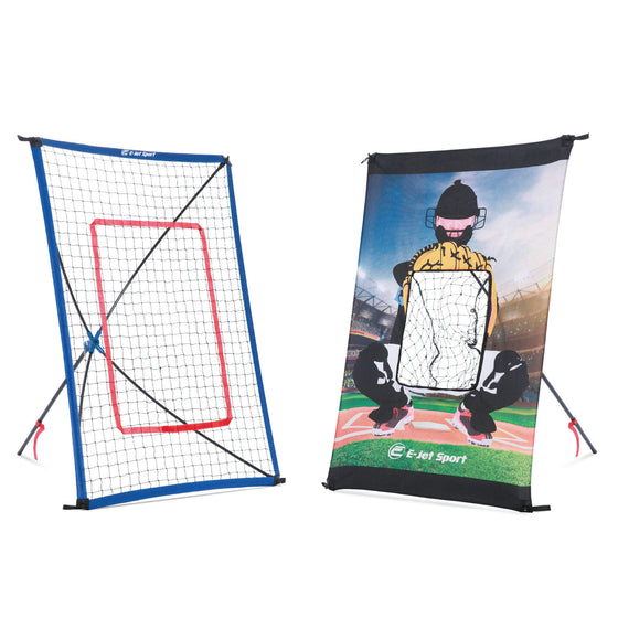 Junior Return Throw Trainer Baseball Pitching Net