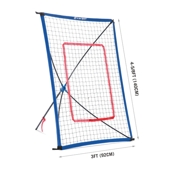 Junior Return Throw Trainer Baseball Pitching Net dimensions