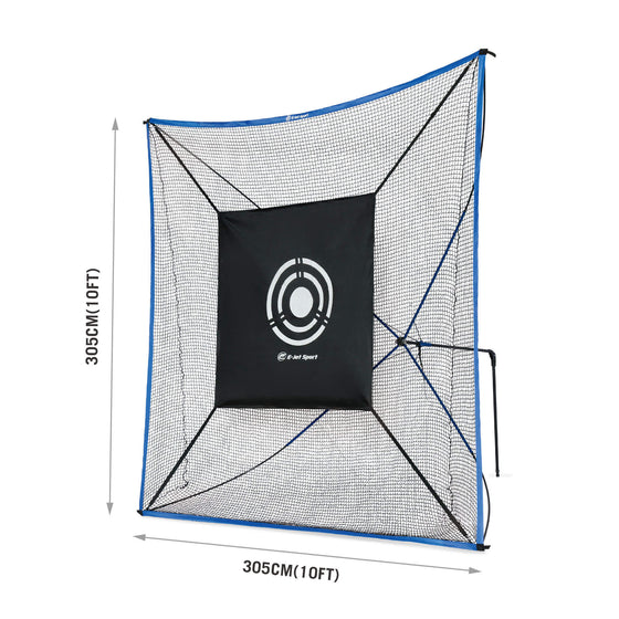 Golf Practice Net with Shooting Target dimensions