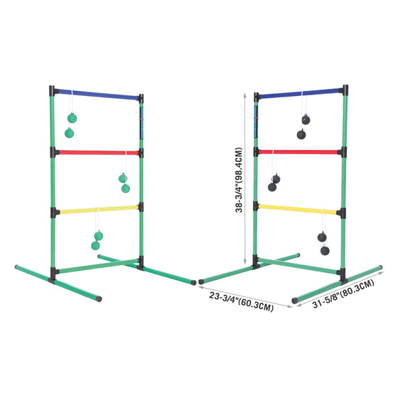 Ladder Toss Game Set dimensions