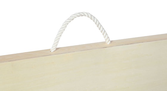 Cornhole Bean Bag Toss Game board handle
