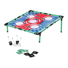 Backyard Bean Bag Toss Game and Lawn Darts 2-Game Set