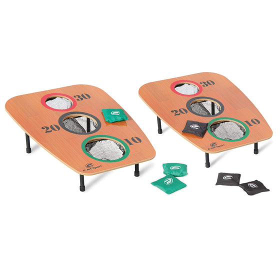 3-Hole Bean Bag Toss Game with Two Boards