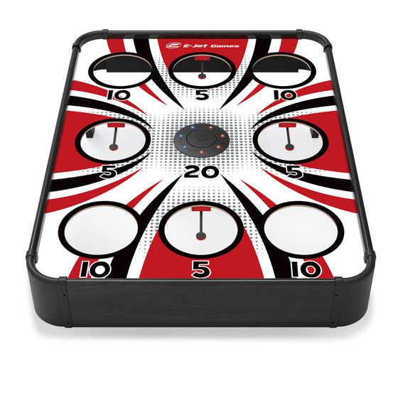 "Front View of the E-Jet Games Battle Back 27"" Electronic Bean Bag Game"