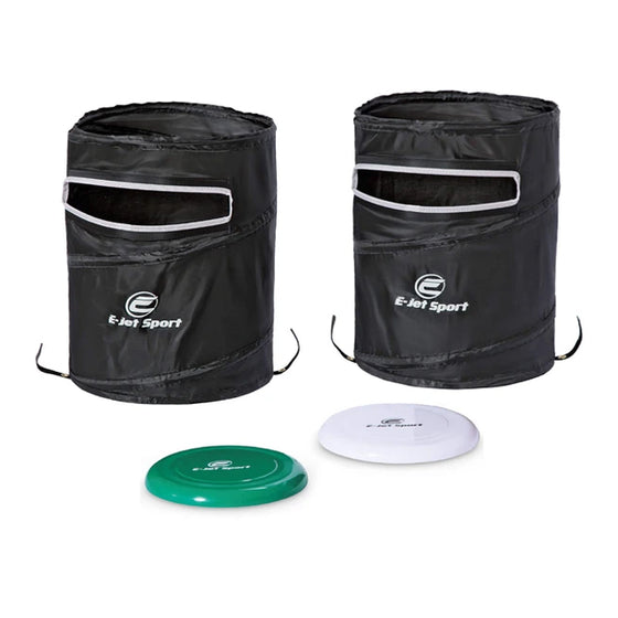 Outdoor Disc Smash Yard Game Set with Carrying Case