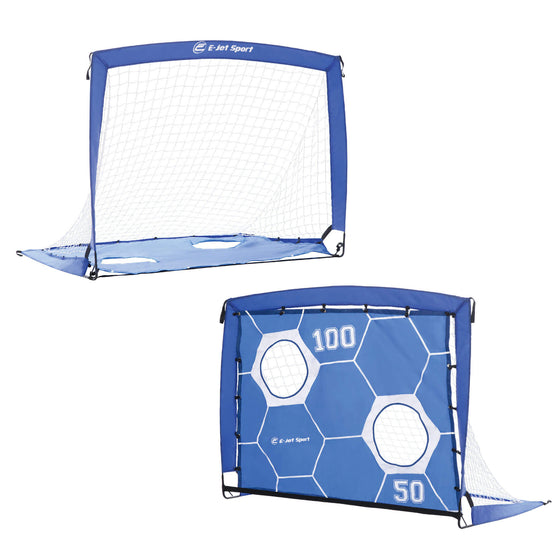 Portable Soccer Goal with Training Target