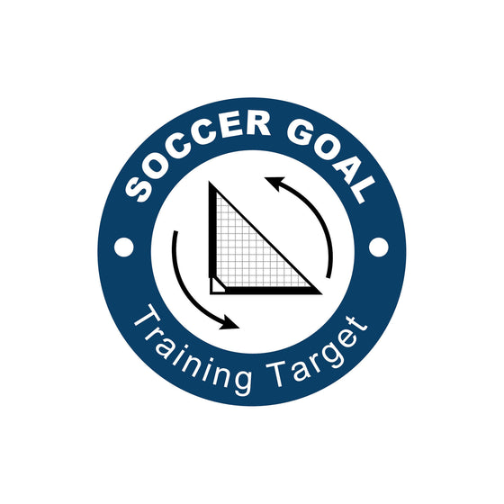Portable Soccer Goal with Training Target logo