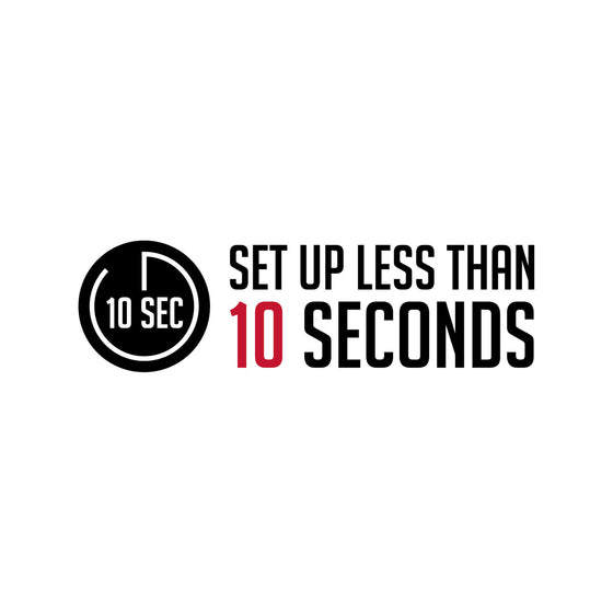 10 second set-up logo