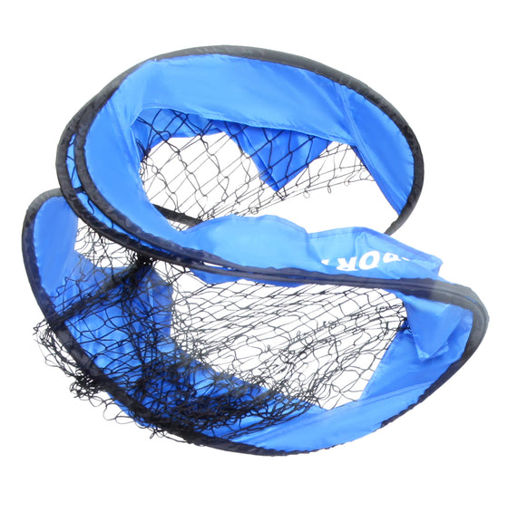 Pop-Up Soccer Goal net folded