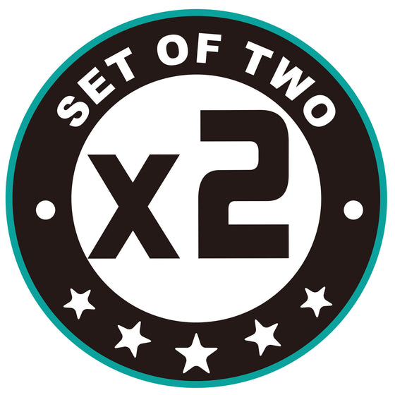 set of 2 logo