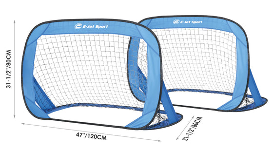 Pop-Up Soccer Goal Set - dimensions