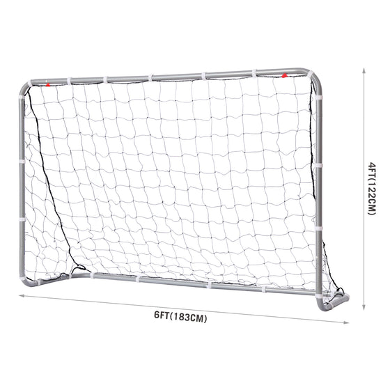 Competition Steel Soccer Goal Net dimensions