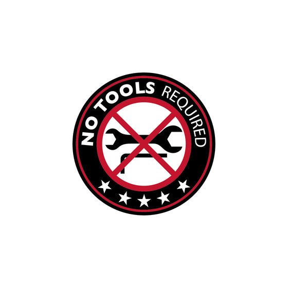 no tools required logo