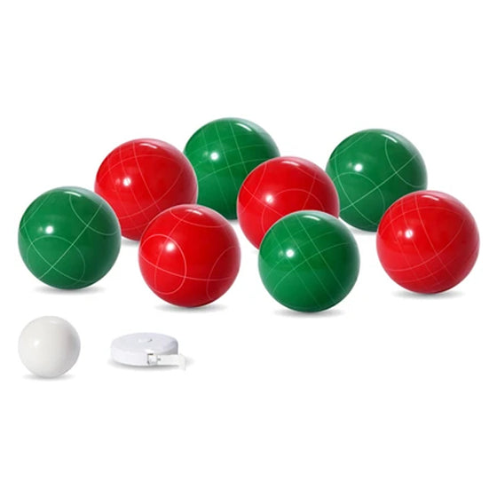 Solid Resin Bocce Ball Set