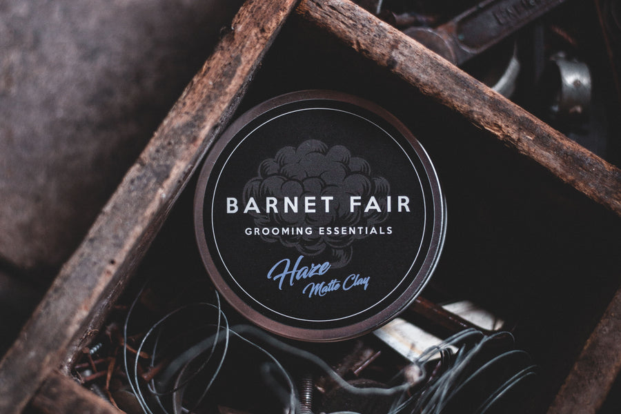 Barnet Fair Men's Hairstyling Product Lineup