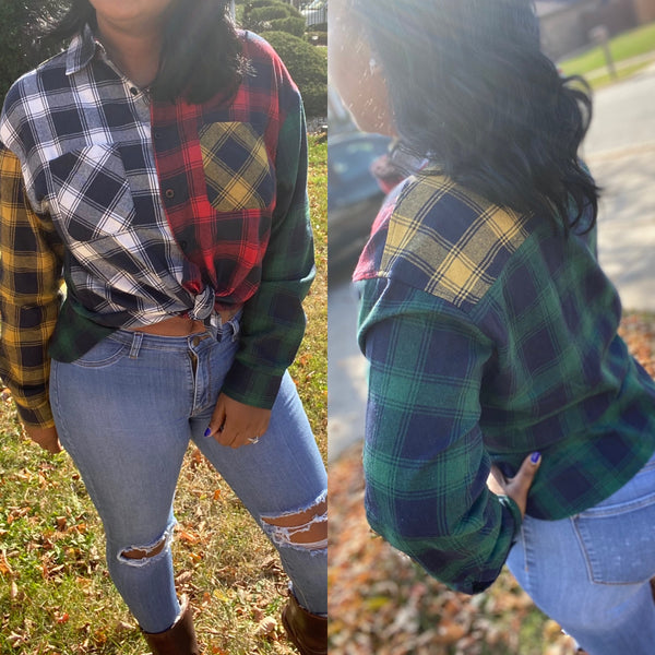 "The ""Plaid About You"" Flannel Top"