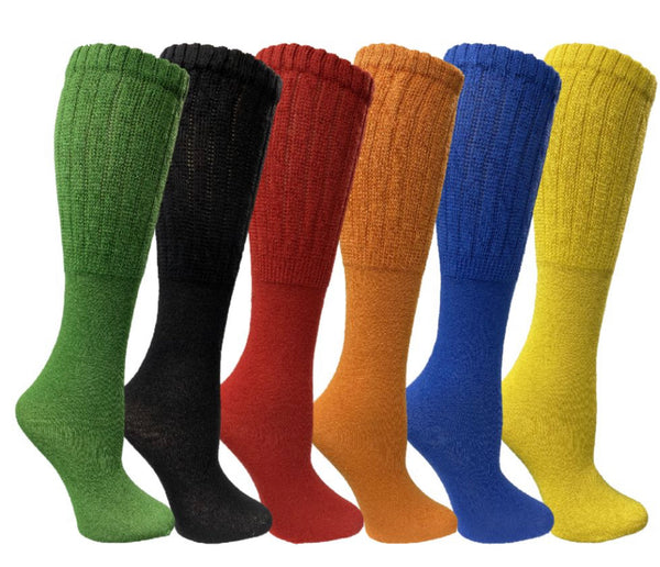 Slouch Socks/ Fall Colors