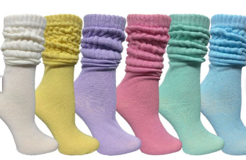 Slouch Socks/Spring Colors