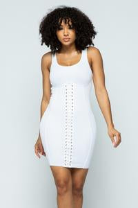 Corset Mini BodyCon Dress
