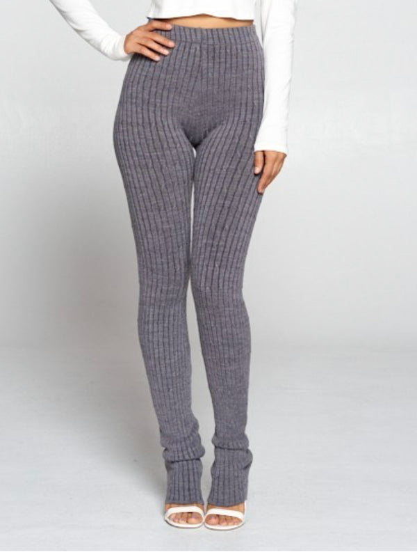 "The ""French Knit"" Ribbed Legging"