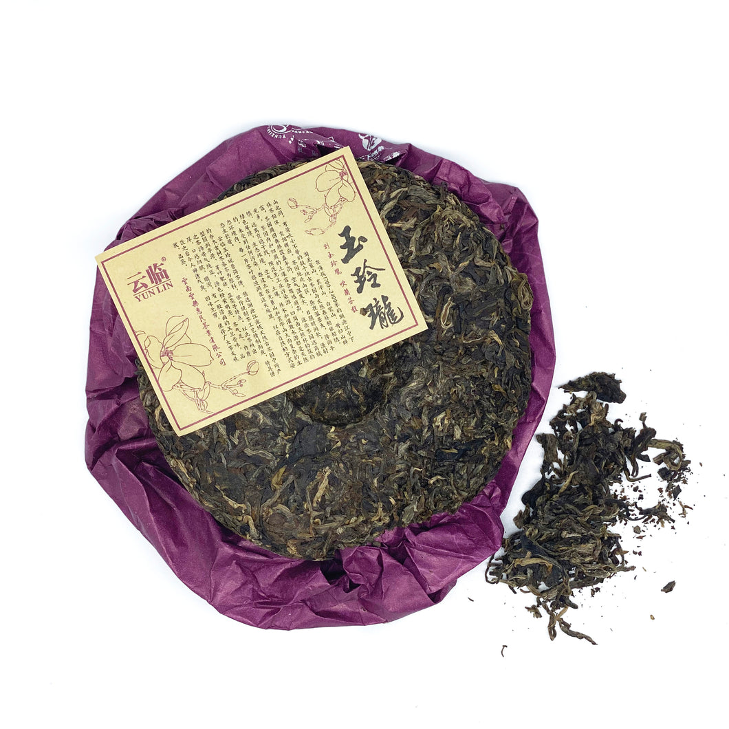 Single Origin Ancient Raw Pu'er 玉玲古树普洱 150g
