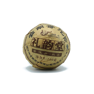 Fermented Pu'er Ball 拖茶熟普 100g