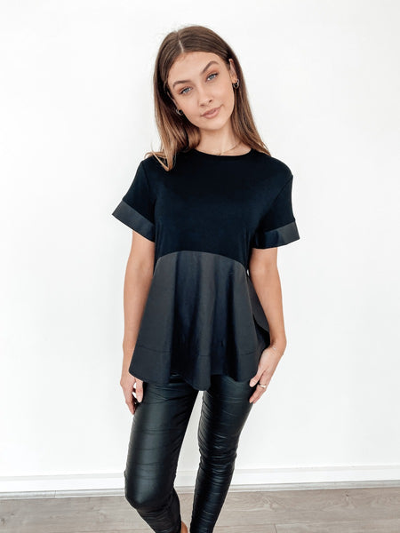 Flare Black Top
