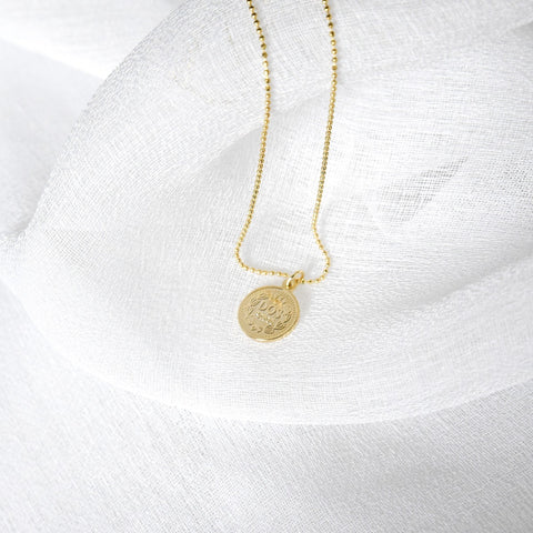 Penny Coin Necklace - Gold