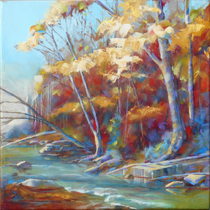 Autumn on the River Bank