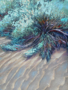 Sage on Desert Waves